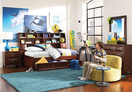 ivy league cherry 7 pc twin daybed bedroom ryder s room ideas rh pinterest com
