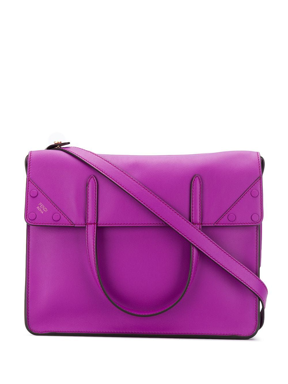 e591cc42ea Fendi Fendi Flip tote bag - Purple | Products in 2019 | Bags, Purple ...
