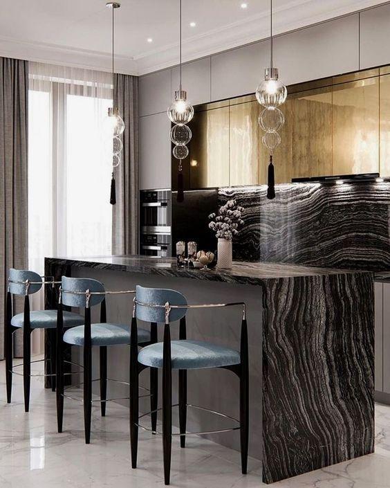 pin by rehau surface solutions on modern home luxury kitchen design interior design kitchen on kitchen interior luxury id=60029