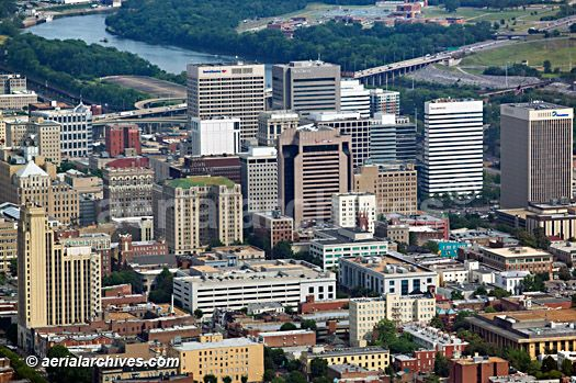Downtown Richmond VA | Aerial Photographs Of Downtown Richmond, Virginia
