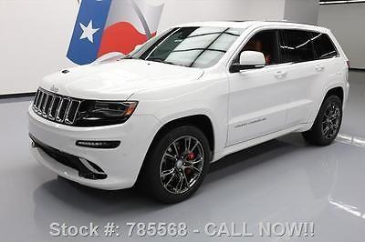 ebay jeep grand cherokee srt8 hemi 4x4 pano roof nav 2015 jeep rh pinterest ca