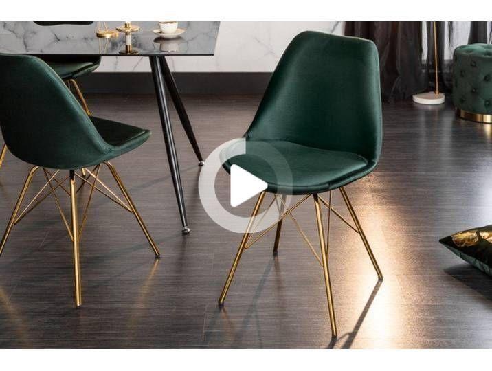 デザインチェアSCANDINAVIAマイスターシュテュックベルベットの濃い緑色の黄金の足 現代アクセント最終的なデザインの椅子SCANDINAVIA MASTERPIECEと組み合わせてエレガントなデザイ...