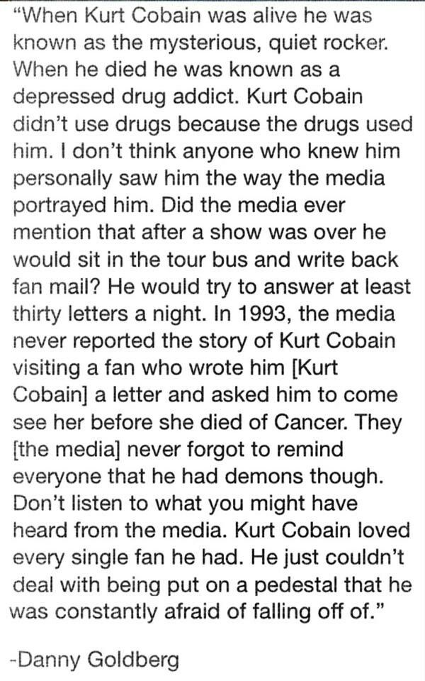 Who Kurt Really Was..