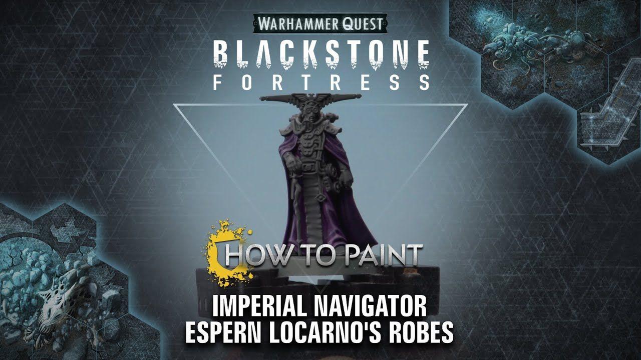 Espern Locarno Imperial Navigator Blackstone Fortress Warhammer 40k