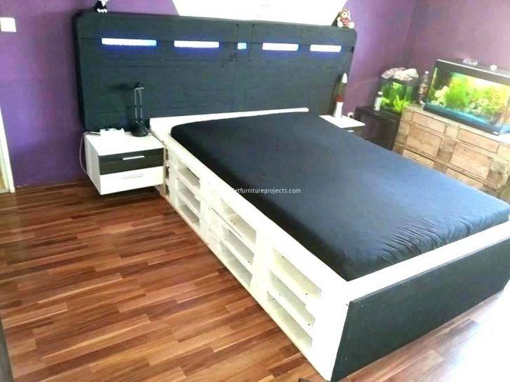 Außergewöhnliche Bett Ohne Bettrahmen Schlafzimmer