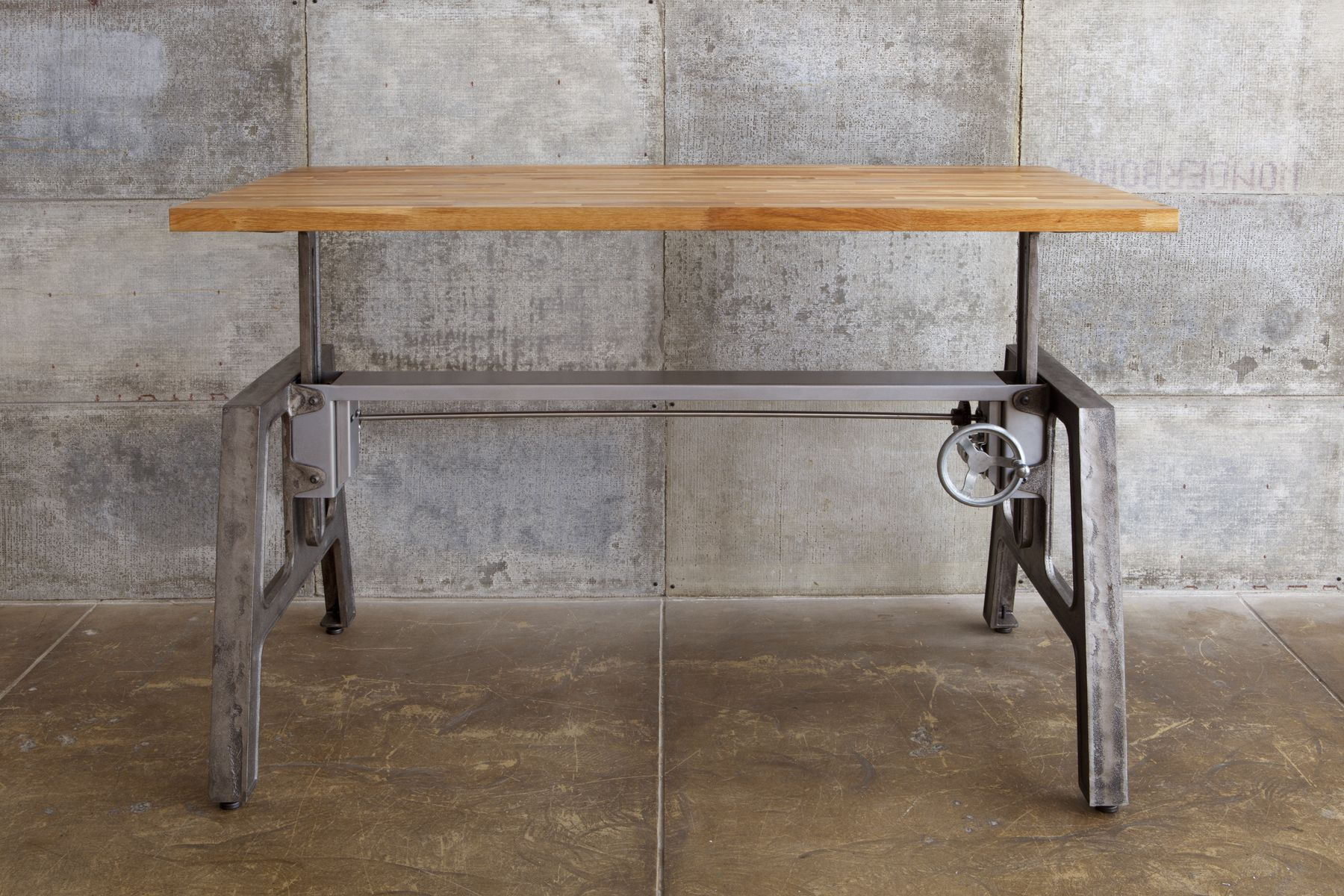 Discover The Best Mashstudios Height Adjustable Work Table On Dwell. Industrial  DeskIndustrial ...