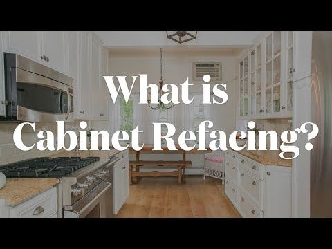 cabinet refacing is a money saving option for your kitchen rh pinterest com