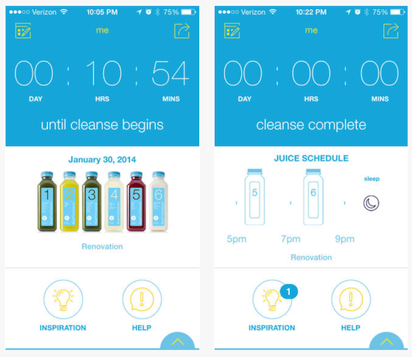 Blueprintcleanse debuts an app to help you cleanse and find green blueprint debuts an app to help you cleanse and find green juices malvernweather Images