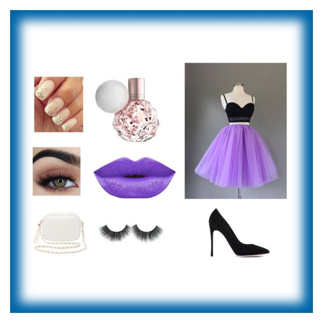 """""""Party pack🎊🎉🎈"""" by tianacontor ❤ liked on Polyvore featuring Charlotte Russe and Gianvito Rossi"""