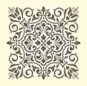 Maler Wandschablone Schablone Historisches Ornament 13 Schablonen Wandschablonen Schablonenmalerei