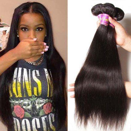 Unice Hair 10 12 14 Inches 100 Virgin Brazilian Natural