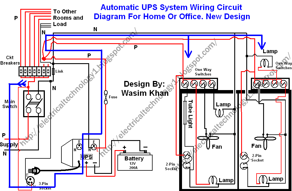 Home Wiring Design Impressive New Home Wiring Ideas  Wiring Diagram Schemes Inspiration Design