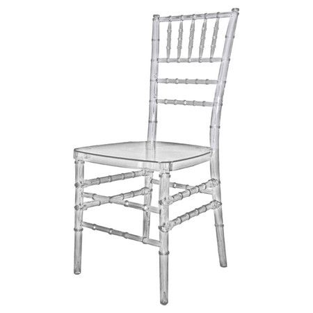 clear indoor outdoor chiavari side chair product chairconstruction rh pinterest com