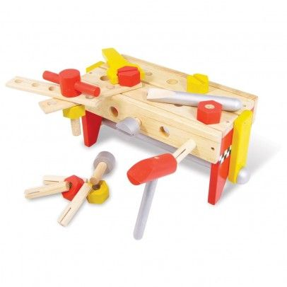 Caja estable de herramientas reversibles  Vilac