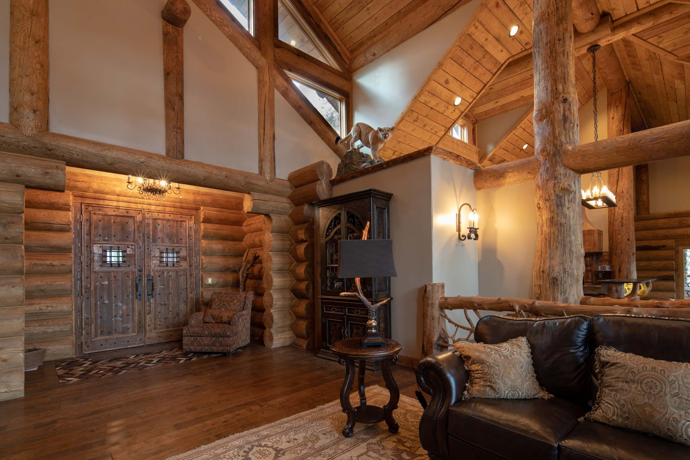 luxury mountain lodge for sale in angel fire nm back basin lodge rh pinterest com