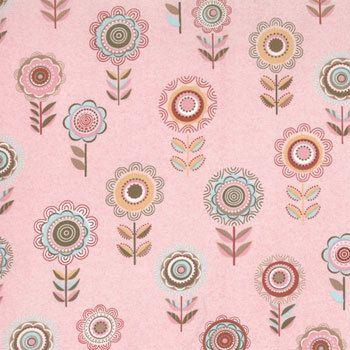 1 Fat Quarter Moda BLUSH Fancy Sweetie Pink by spiceberrycottage