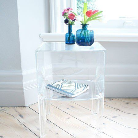 Kartell Small Ghost Buster Side Table by Philippe Starck. | Taylor ...