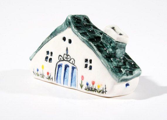 Handmade & painted miniature house