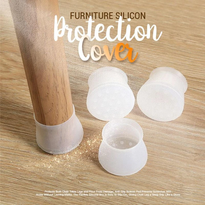 Furniture Silicon Protection Cover Cleancults In 2020 Chair Legs Floor Protectors Chair Leg Covers