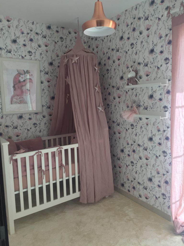 Baby Girl Nursery Lighting Baby Girl Floral Nursery Beautiful Blossoms In 2019 Children S