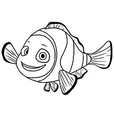 40 Finding Nemo Coloring Pages Free Printables Finding Nemo