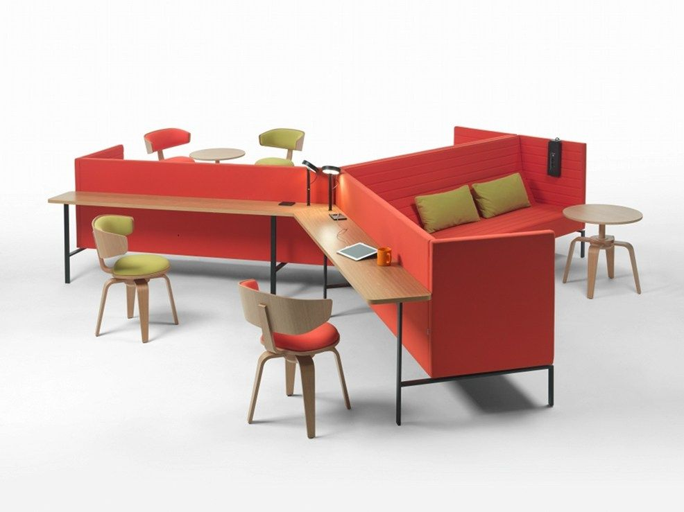 Cabine de bureau multim dia workshaker collection workshaker by giulio marelli italia design - Bureau multimedia design ...