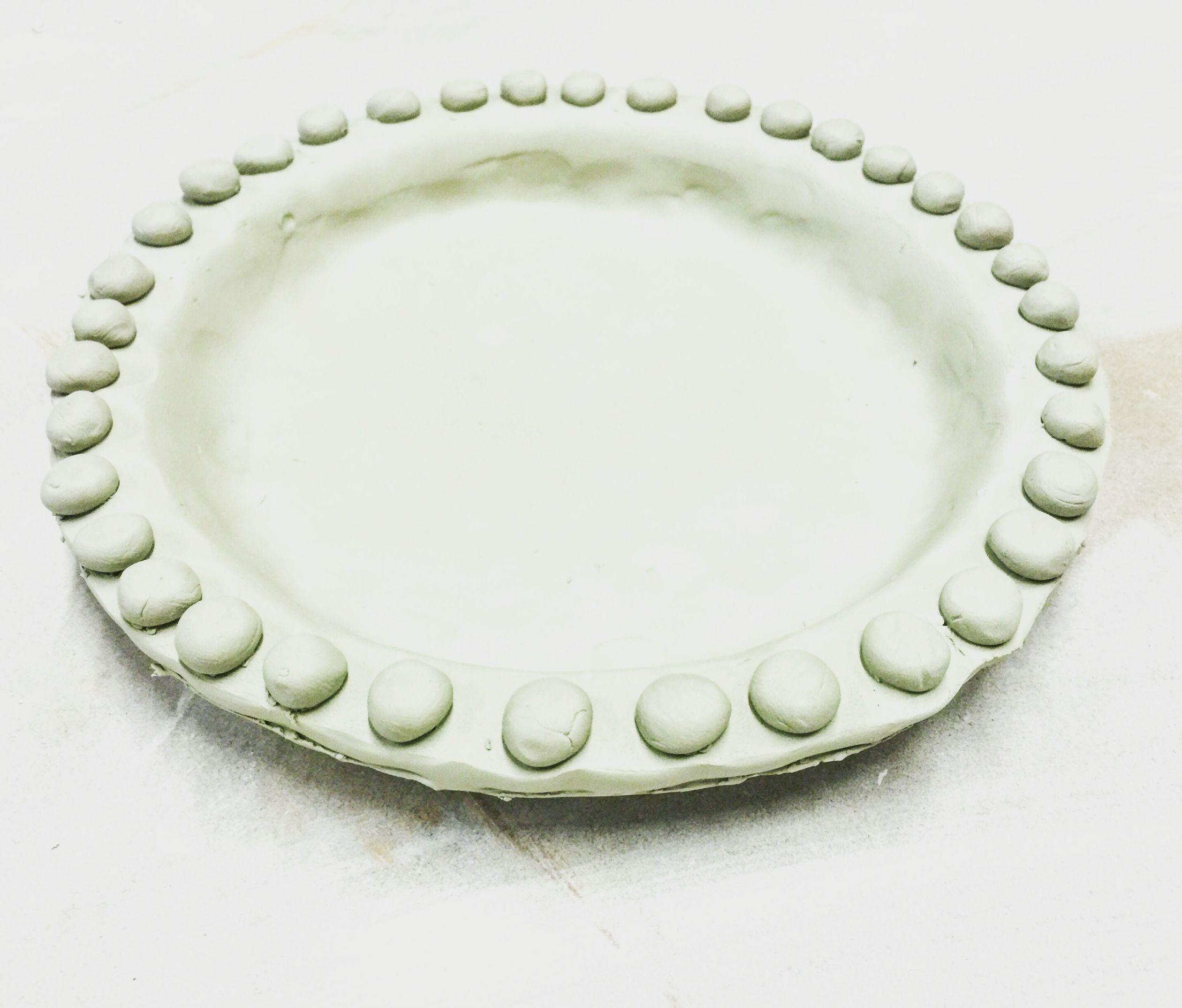 Bobble plate slab built