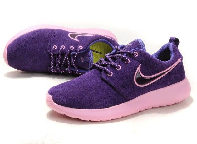 best service 0f06c 57fe4 Nike Roshe One Lady Shoes Purple