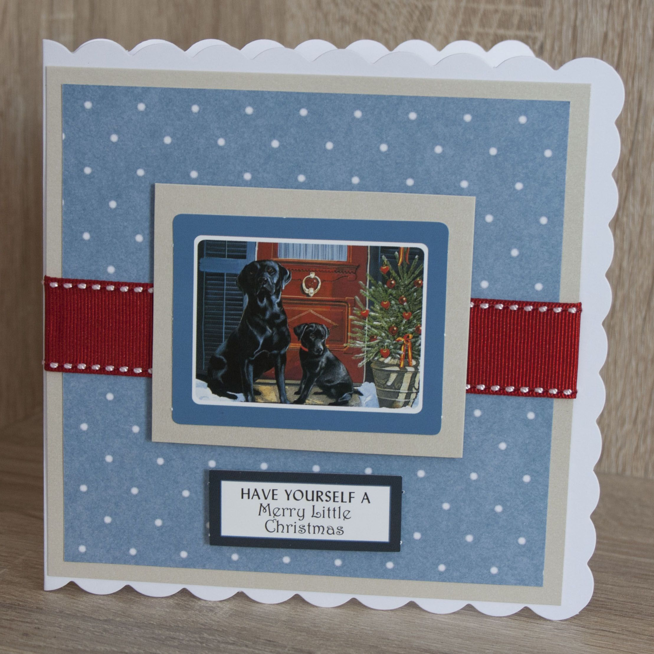 Handmade Christmas Card Made With Moments By Pollyanna Pickering Cards To Make Xmas