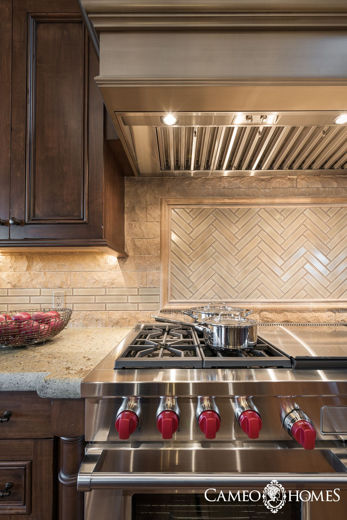 Kitchen In Park City Utah By Cameo Homes Inc With Double Wolf Ovens Home Home Inc Kitchen