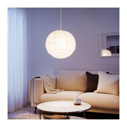 Ikea regolit pendant lamp shade 45cm white light shades ikea regolit pendant lamp shade 45cm white mozeypictures Choice Image