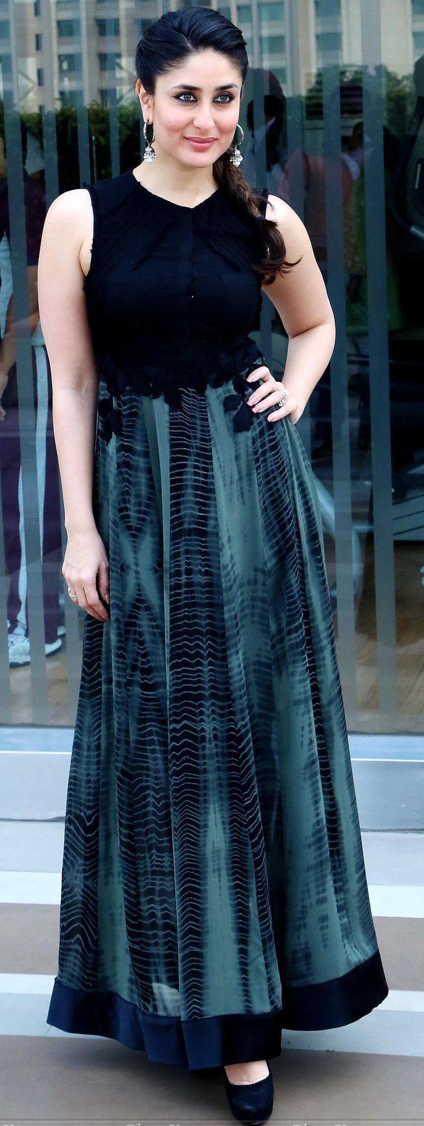 Kareena kapoor in an elegant dress chudidar pinterest kareena