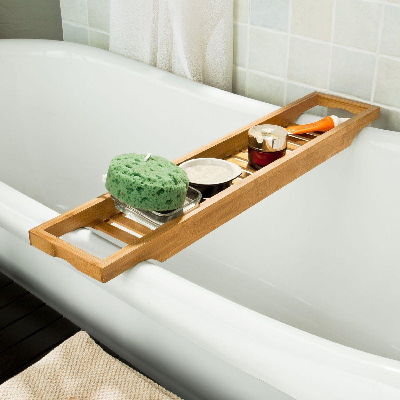 Sobuy bandeja para ba era de bamb estante para ducha - Estantes para interior ducha ...