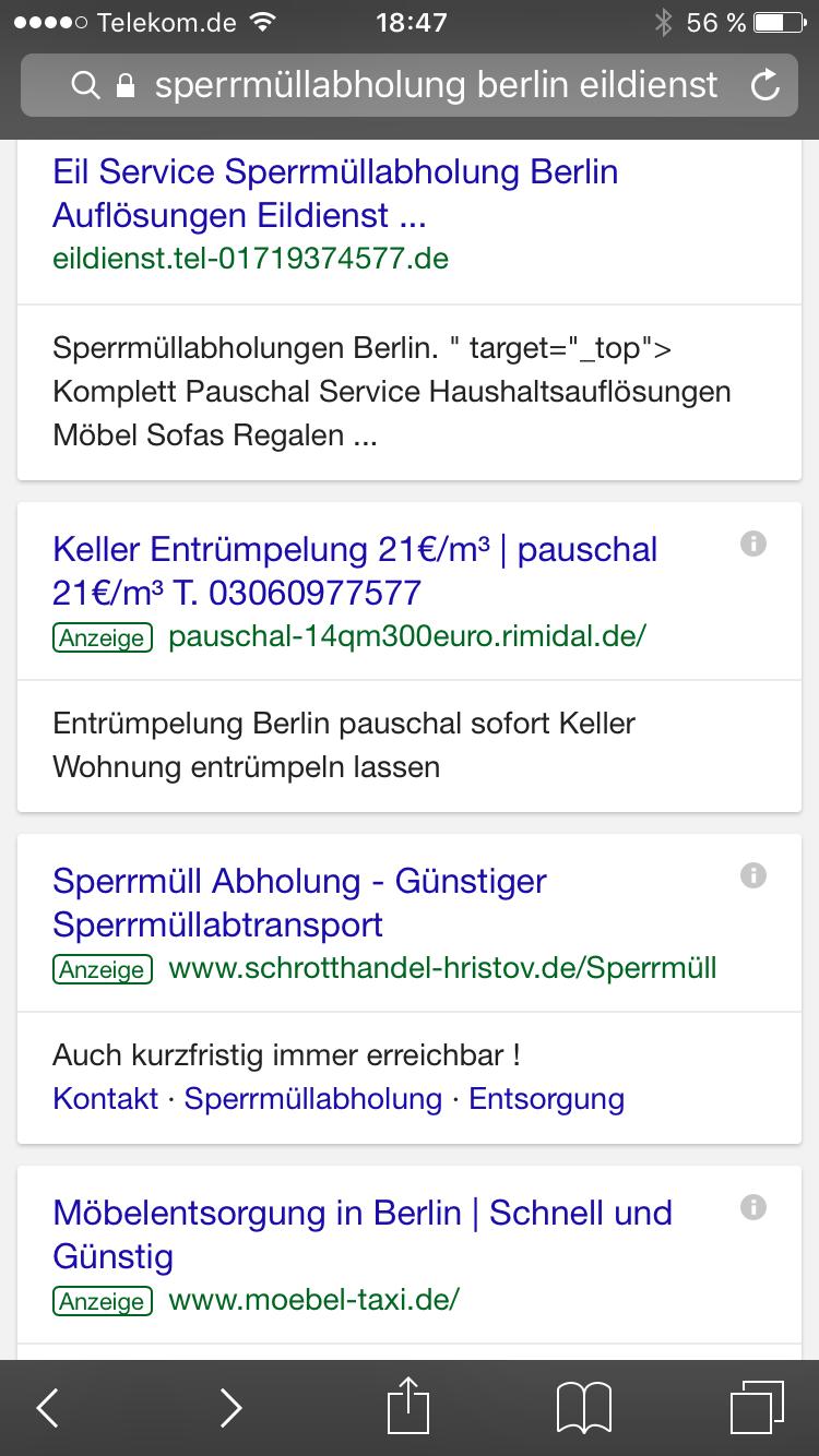 Entrumpelung Pauschal 80 Http Bvnde De Berlin Losung Haushalt