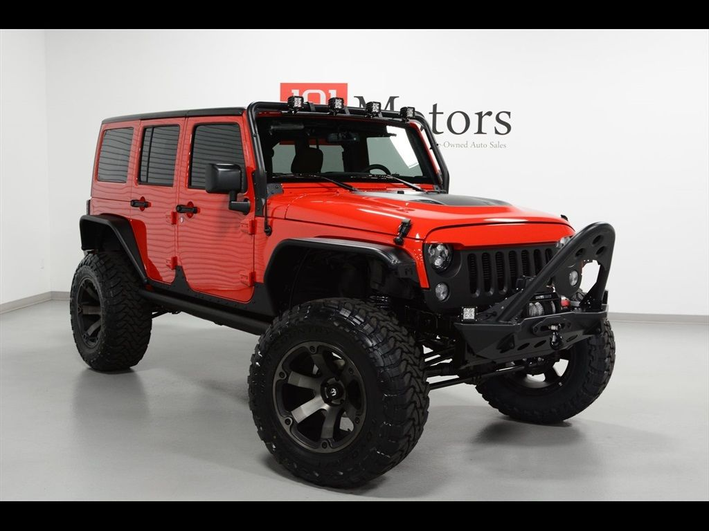 Used 2016 Jeep Wrangler Unlimited Sport for sale in Tempe