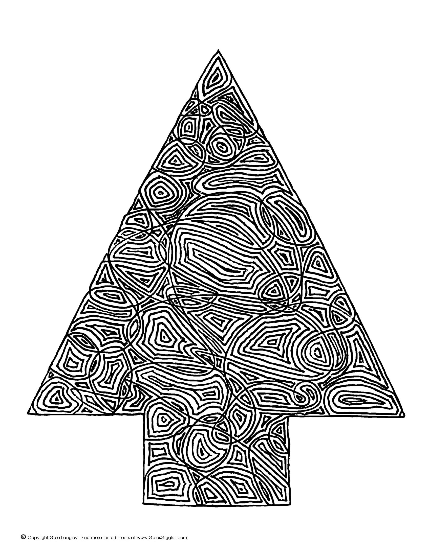 enjoy a free christmas tree coloring page i designed i also have several other scribbleprint coloring page designs to choose from cl