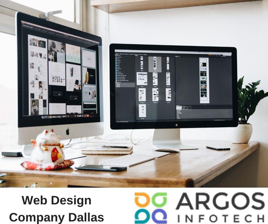 Website Design Development Company In Dallas In 2020 Web Development Design Web Design Web Design Company
