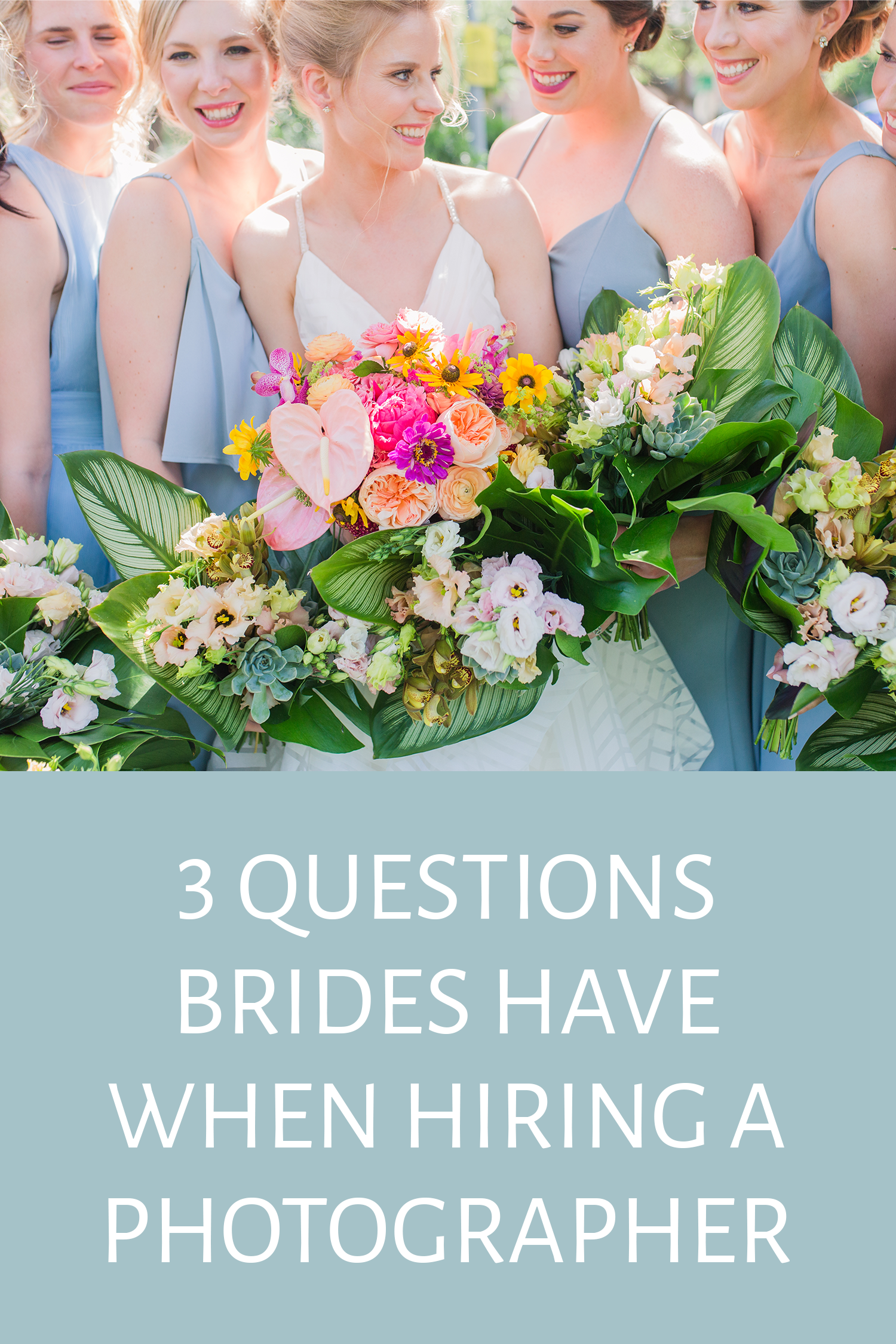 3 Questions Brides Have When Hiring a Photographer Bride