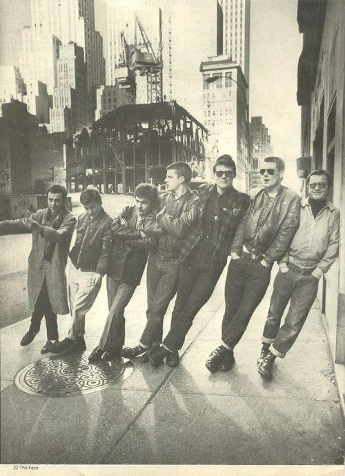 Rocker, Mods, Punk, Rude boy, Skinheads, Teddy boy ...