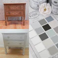 vintage paint la vernice gesso disponibile in 20 colori pronta da