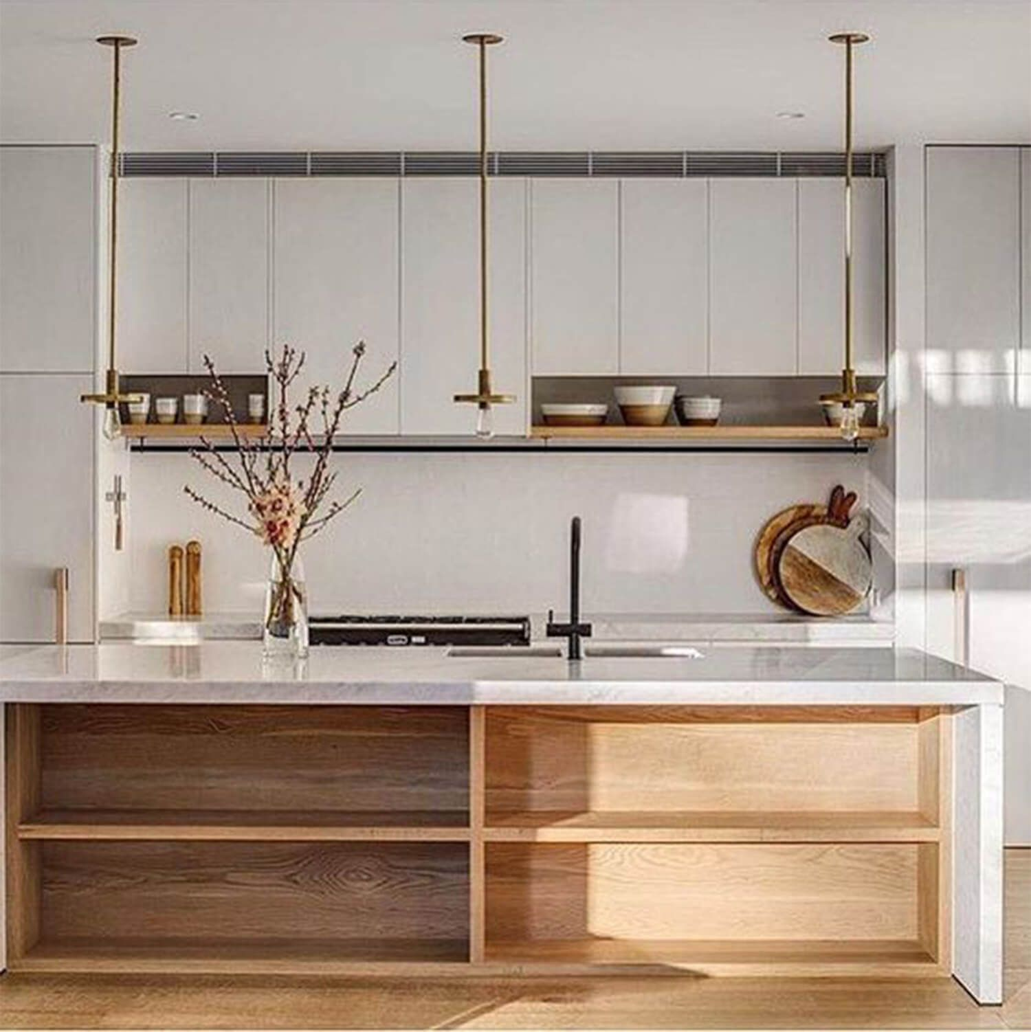 Top 7 Timber Kitchens We Found On Pinterest This Week