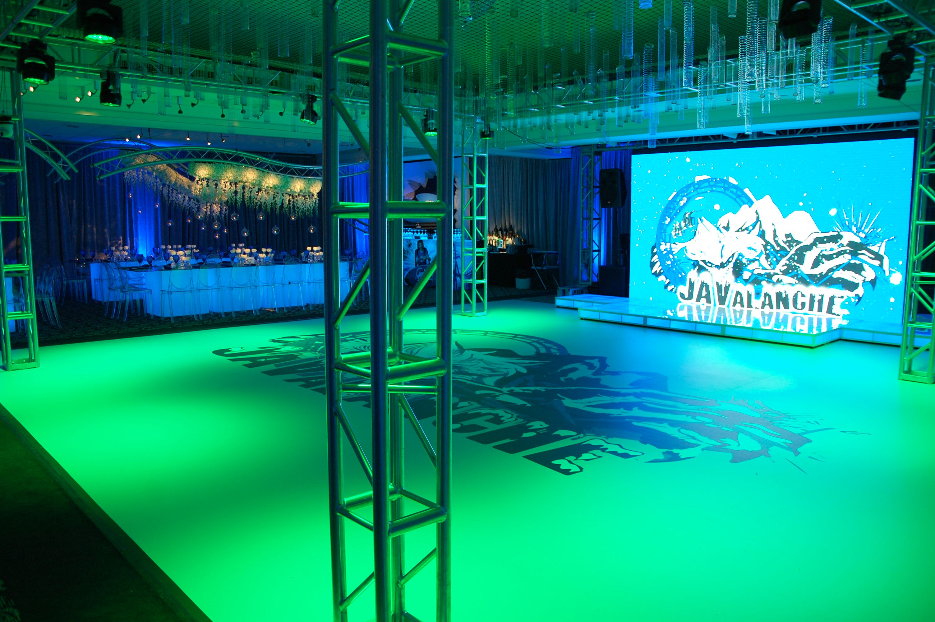 High resolution led video wall with a standard layout for a led uplighting pin spotting intelligent lighting truss and led video wall for a bar mitzvah lighting and av by synergetic sound lighting aloadofball Image collections