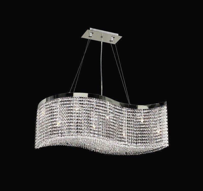 Clavius Crystal Chandelier 800x755 15 Beautiful