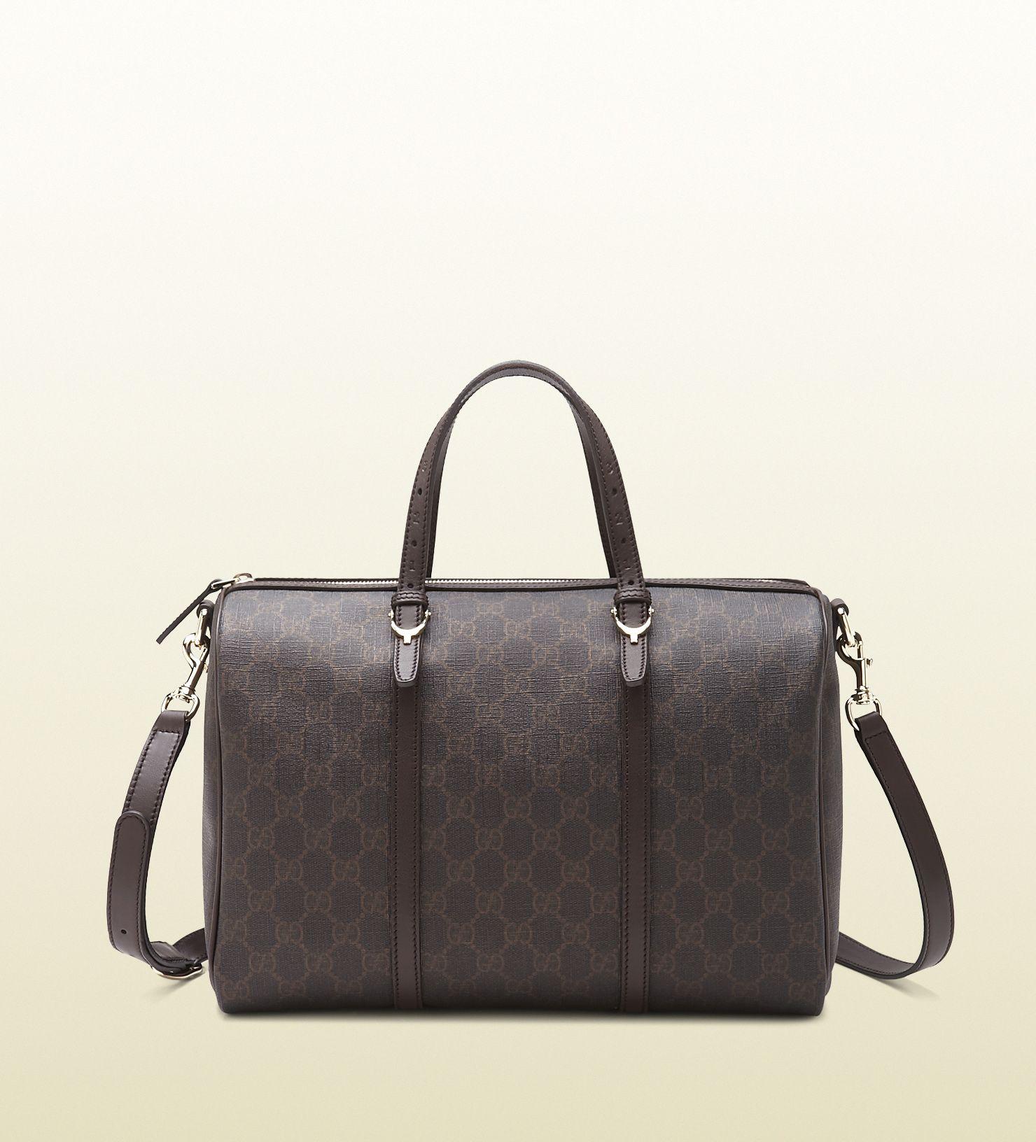 Gucci supreme canvas Boston bag