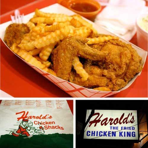 Standing Room Only: Harold's Chicken Shack | Chicago | Chicago food, Chicken  shack, Chicken