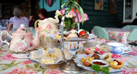 Review: Afternoon Tea at Franklin Villa, Brisbane