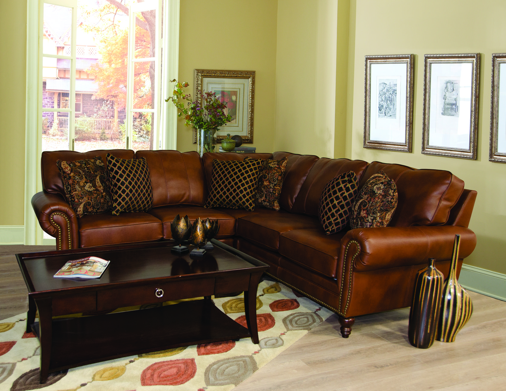 England Furniture 7160 27 7160 22 7160 28 with Roman Auburn