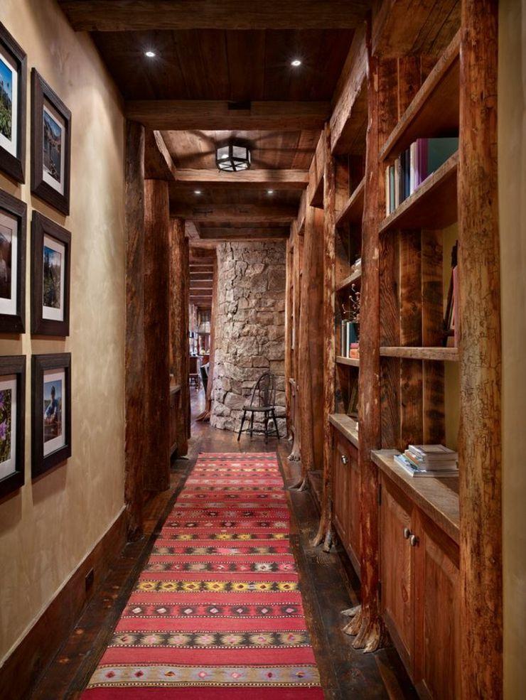 Maison rustique enti rement en bois au montana tats unis - Maison en bois montana cutler ...