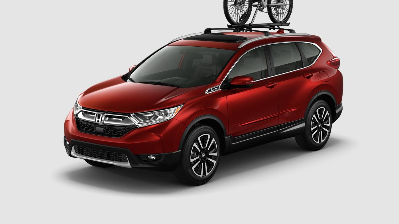 The allnew 2017 CRV blurs the line between rugged design