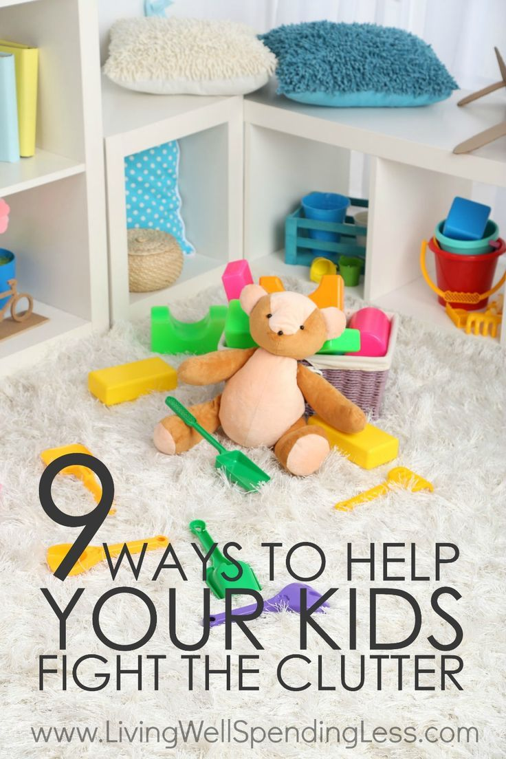 Ever feel like your kids have the magical superpower of being able to create STUFF out of nothing?  Me too!  But the reality is that teaching your kids to conquer their clutter habit now will make their lives--and yours--a whole lot easier later.  Here are 9 smart ways to help your kids fight clutter, starting today. via @lwsl